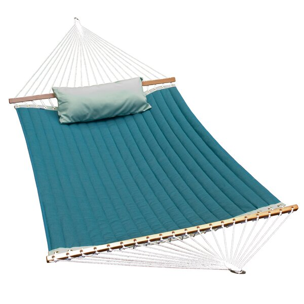 Cardona Sunbrella Double Spreader Bar Hammock by Red Barrel Studio
