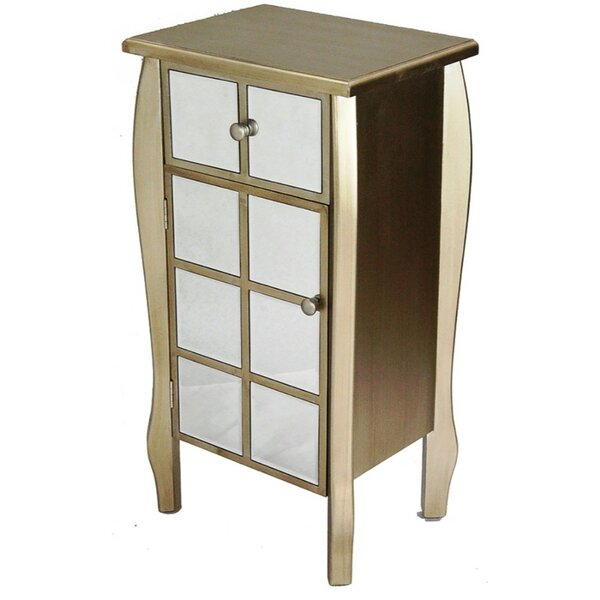 Veroniza Mirrored Accent Cabinet By House Of Hampton