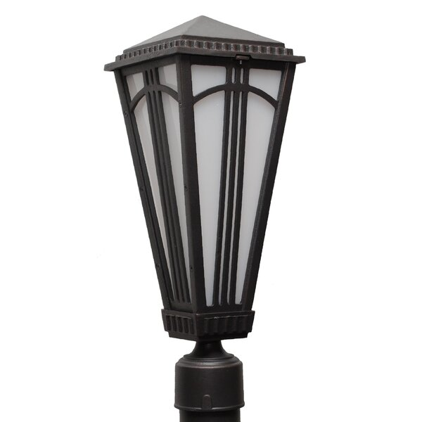 Petrey 1 Light 19.5 Post Lantern by Alcott Hill