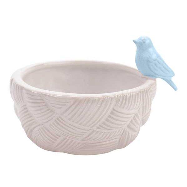 Quintero Bird Succulent Table Top Ceramic Pot Planter by Hallmark Home & Gifts