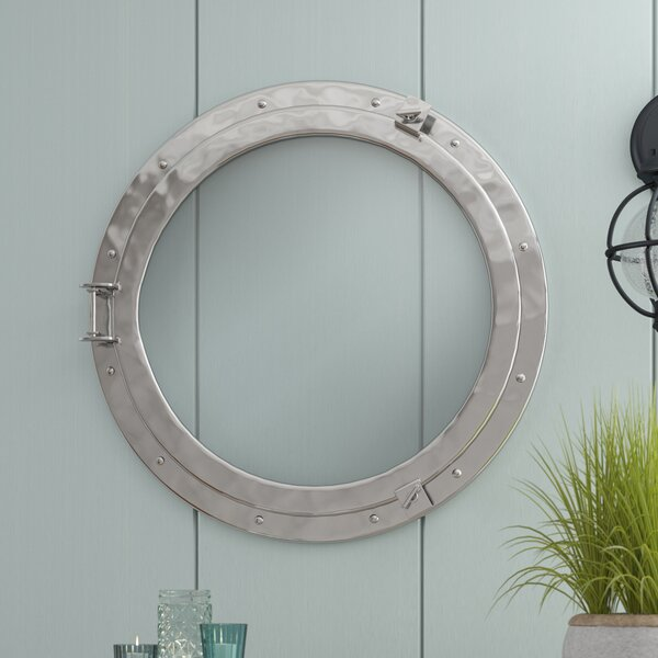 Porthole Brass Window Wall Décor by Beachcrest Home
