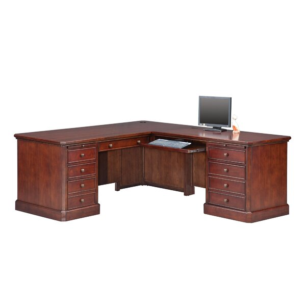 Spielman L-Shape Executive Desk by Darby Home Co