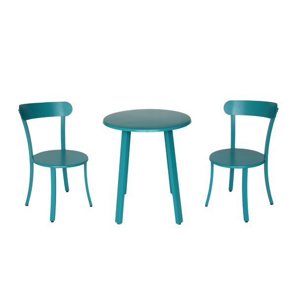 Avery 3 Piece Bistro Set by Hashtag Home Hashtag Home