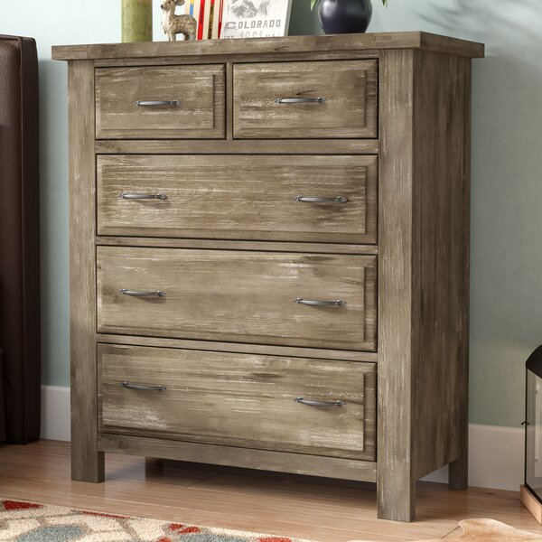 Fairfield 5 Drawer Chest by Loon Peak
