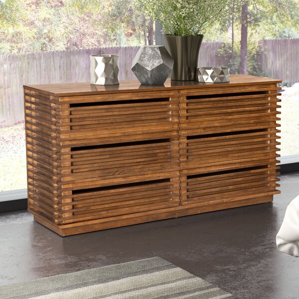 Glidden 6 Drawer Double Dresser by Brayden Studio