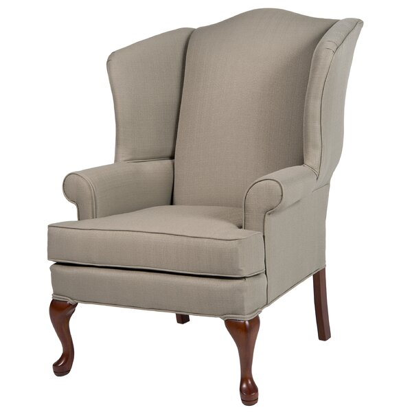 Al Maha Wingback Chair by Canora Grey Canora Grey