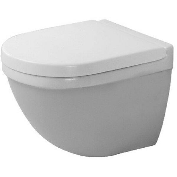 Starck Dual Flush Elongated Toilet Bowl by Duravit