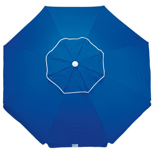 Aisha Deluxe Tiltable Beach Assorted 6.5' Market Umbrella by Breakwater Bay