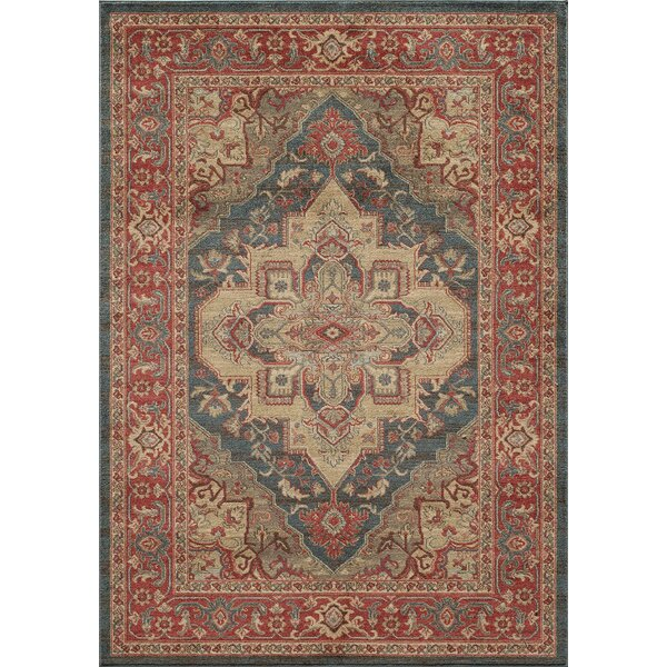 Othello Red Area Rug by Birch Lane™