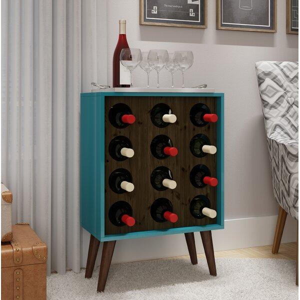 Kory 8 Bottle Floor Wine Bottle Rack by Corrigan Studio