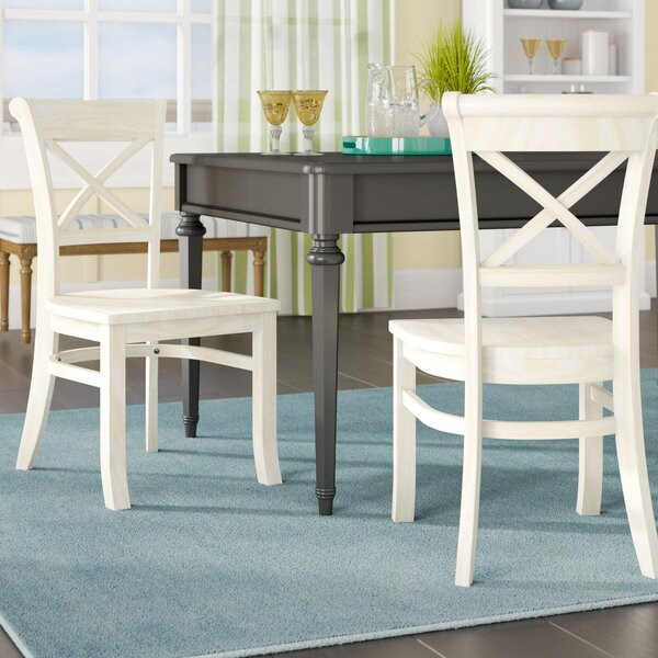 Find Wembley Solid Wood Dining Chair (Set Of 2) By Beachcrest Home Cool