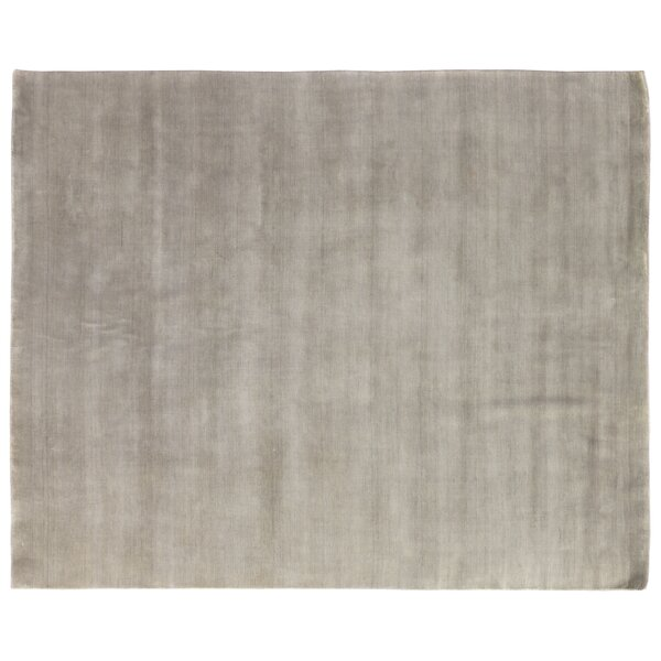 Dove Hand Woven Wool Light Green Area Rug by Exquisite Rugs