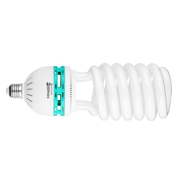 100W (5500K) Compact Fluorescent Full Spectrum Light Bulb by Square Perfect