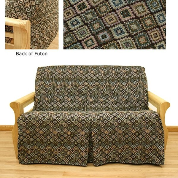 Southwest Box Cushion Futon Slipcover By Easy Fit