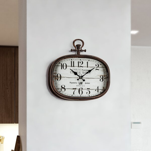 Lourenco Wall Clock by One Allium Way