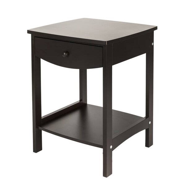 Gualtier End Table With Storage By Ebern Designs