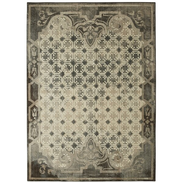 Lakeside Cottage Gray Area Rug by Patina Vie