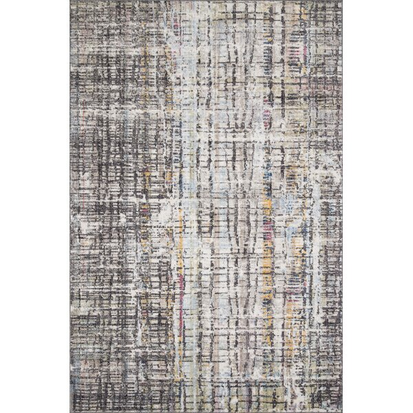 Schell Charcoal Area Rug by Williston Forge