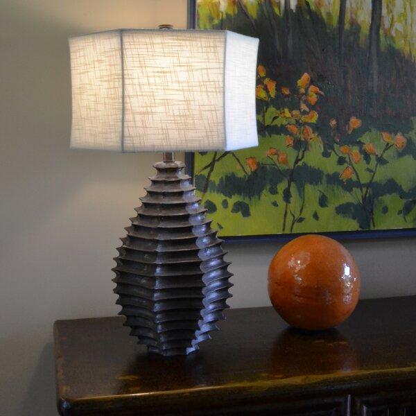 Resin Sculptural Hexagon 28 Table Lamp by Wildon Home ®