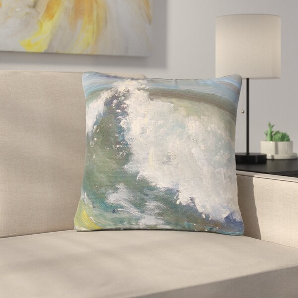 Carol Schiff the Crest Nautical Painting Outdoor Throw Pillow by East Urban Home