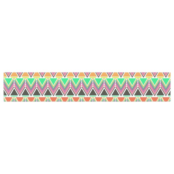 Nandita Singh Pattern Play Chevron Table Runner by East Urban Home