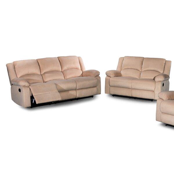 Ojas 2 Reclining Piece Living Room Set by Red Barrel Studio