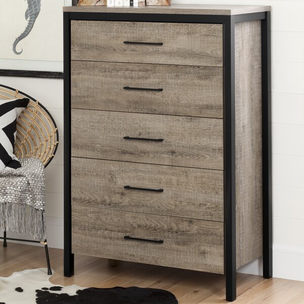 Munich 5 Drawer Chest by South Shore