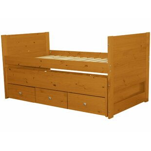 Best Choices Twin Captain Bed with Trundle and Storage ByBedz King