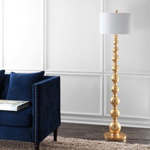 Best Price Wacker 62.5 Floor Lamp By House of Hampton