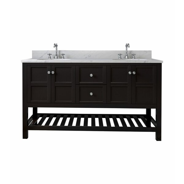 Basso 61 Double Bathroom Vanity Set