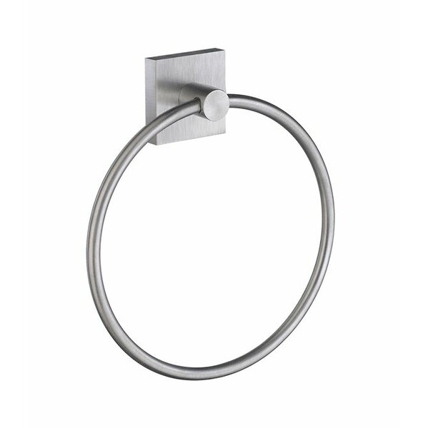 Witherspoon Wall Mounted Towel Ring by Orren Ellis
