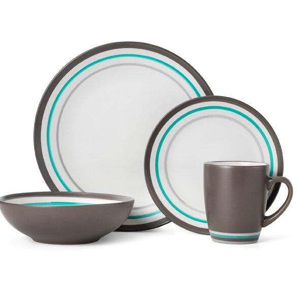 Henley 16 Piece Dinnerware Set, Service for 4 by Pfaltzgraff Everyday