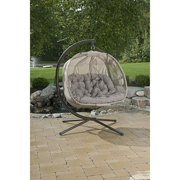 Milpara Double Swing Chair with Stand by Latitude Run Latitude Run