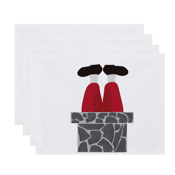 Away He Goes Placemat (Set of 4) by The Holiday Aisle