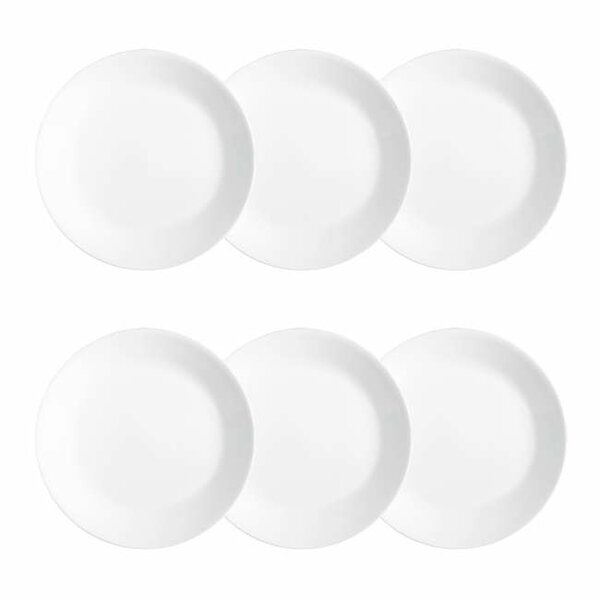 Livingware 6.75 Bread and Butter Plate Set (Set of 6) by Corelle
