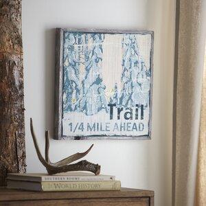 Trail Wood Wall Art by Birch Lane™