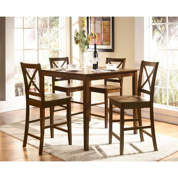 Altoona 5 Piece Pub Table Set by Canora Grey
