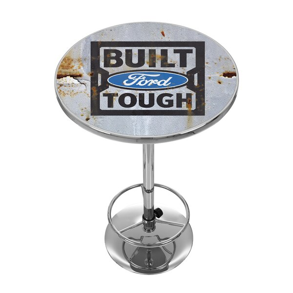 Amazing Built Ford Tough Pub Table By Trademark Global 2019 Online