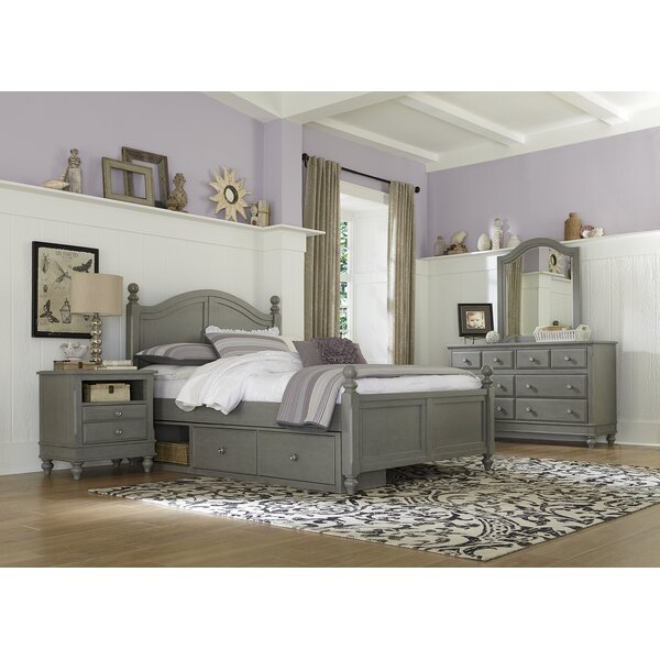 Nickelsville Full Panel Bed with Storage by Three Posts