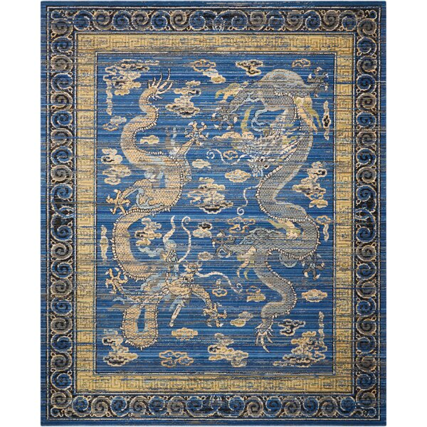 Dynasty Azure Blue Area Rug by Barclay Butera Lifestyle