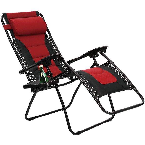 Nolia Reclining Folding Zero Gravity Chair By Freeport Park