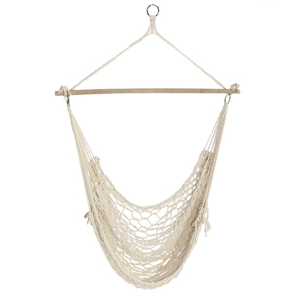 Beckwood Cotton Chair Hammock By Bungalow Rose