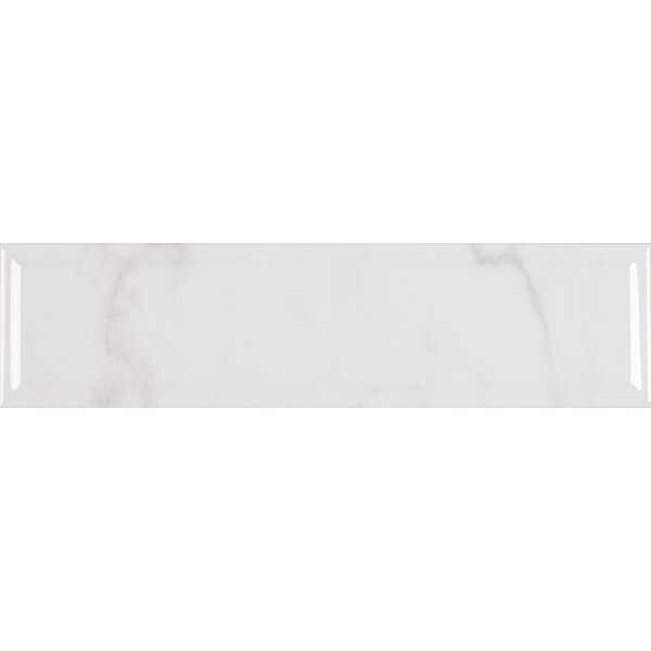 Classique Carrara 4 x 16 Ceramic Tile in White by MSI