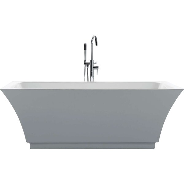 Serenity 67 x 31.3 Soaking Bathtub by Virtu USA