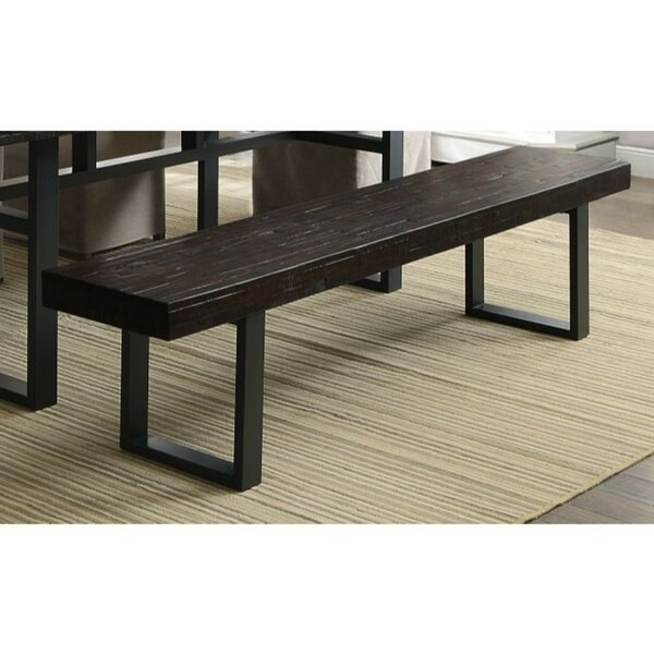 Berrywood Dual-Tone Dining Bench by Foundry Select