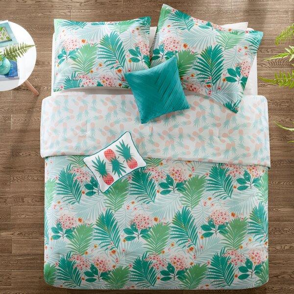 Luckey Reversible Comforter Set by Wrought Studio