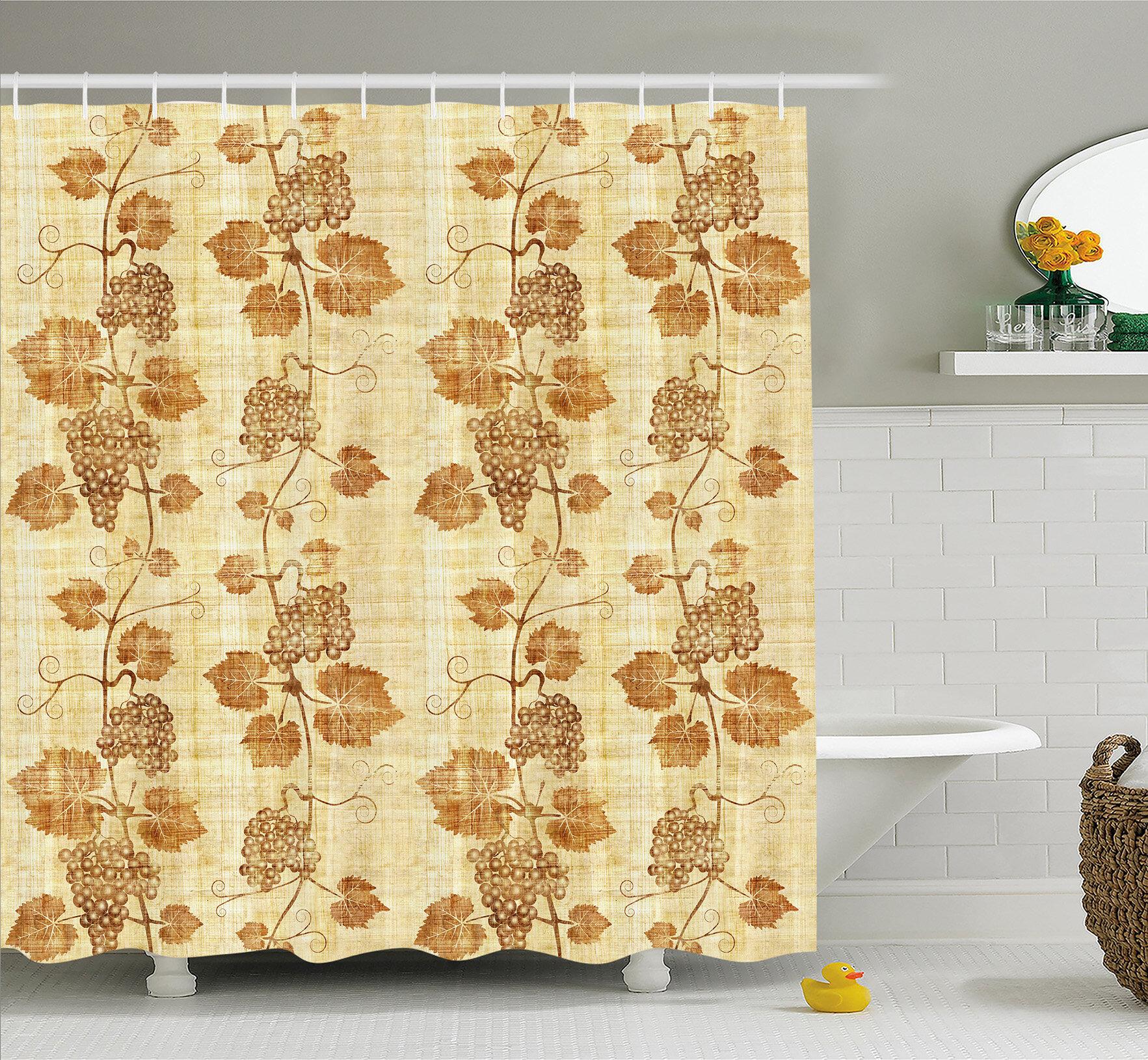 Ancient Egyptian Women Papyrus Shower Curtain Set Bathroom Mat Waterproof Fabric