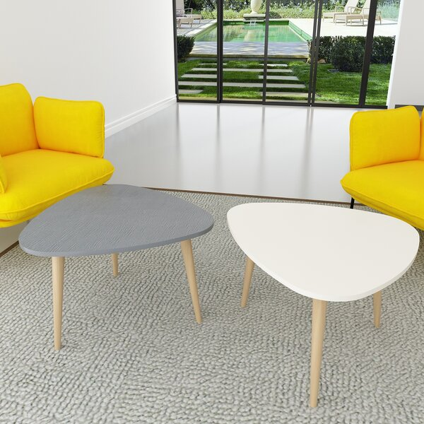 Wanneroo 2 Piece Coffee Table Set (Set Of 2) By George Oliver