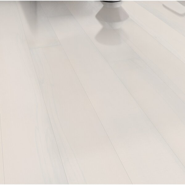 Shine 7-3/8 Engineered Beech Hardwood Flooring in Opaque by Kahrs