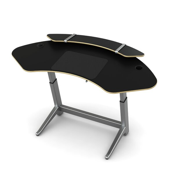 Sphere U-Shape Standing Desk by Focal Upright Furniture